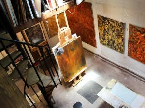 Annual Open Studio, Palenville NY Artists Nicole Lemelin And Terrance DePietro